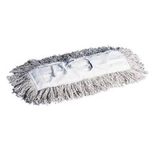 Dust Mop Head in White