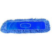 Looped End Dust Mop Head in Blue