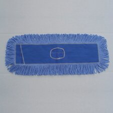 "<strong>Unisan</strong> 36"" x 5"" Looped-End Dust Mop Head in Blue"