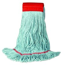 EchoMop Looped-End Large Mop Head in Blue (Set of 14)