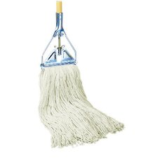 Rayon Fiber Mop Head in White