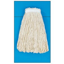 24 oz Cut-End Mop Head in White