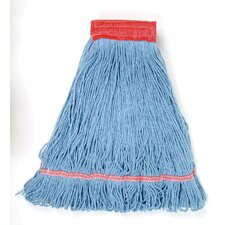 Large Super Loop Mop Head in Blue (Set of 14)