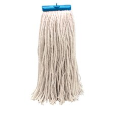 Economical Lie Flat Mop Head in White