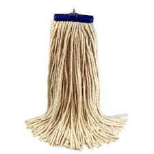 32 oz Economical Lie Flat Mop Head in White