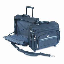 <strong>UNITED STATES LUGGAGE</strong> Solo Rolling Laptop Case/Overnighter