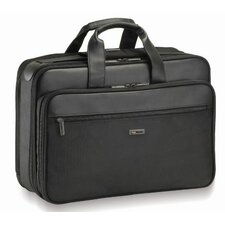 Smart Strapt Zippered Portfolio, 17-1/2 x 7 x 12-1/2, Black
