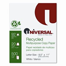 30% Recycled Copy Paper, 5000/Carton
