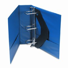 D-Ring Binder w/Label Holder, 3in Capacity