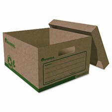 <strong>Universal®</strong> Recycled Record Storage Box, Letter, 12 X 15 X 10, Kraft, 12/Carton