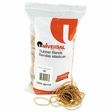 Rubber Bands, 1900 Bands/1 lb Pack