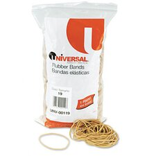 Rubber Bands, 1240 Bands/1 lb Pack