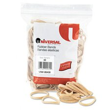 Rubber Bands, 275 Bands/0.25 lb Pack