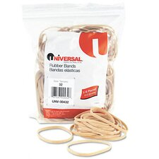 Rubber Bands, 205 Bands/0.25 lb Pack