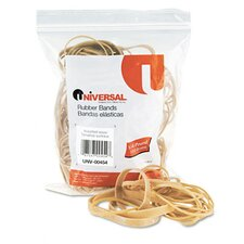 Rubber Bands, 0.25 lb Pack