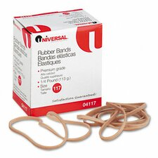 Rubber Bands, 50 Bands/0.25 lb Pack