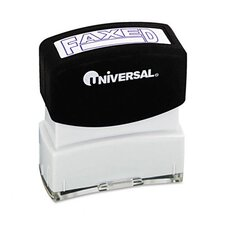 Message Stamp, Faxed