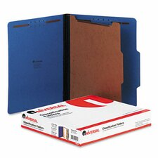 <strong>Universal®</strong> Pressboard Classification Folder, 10/Box