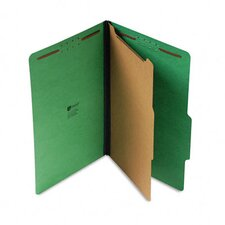 Pressboard Folder, Legal, Four-Section, 10/Box