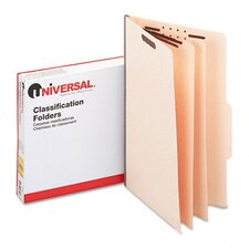 Manila Classification Folders, 15/Box