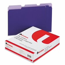 Colored File Folders, 100/Box