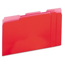 Recycled Interior File Folders, 100/Box