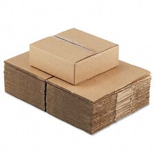 "Corrugated Kraft Fixed-Depth Shipping Carton, 25/Bundle (20.5"" H x 14.5"" W x 7.5"" D)"