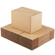 "Corrugated Kraft Fixed-Depth Shipping Carton, 25/Bundle (31"" H x 25"" W x 9"" D)"