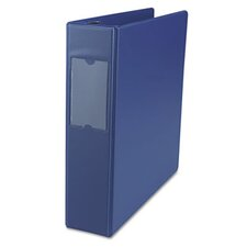 D-Ring Binder w/Label Holder, 2in Capacity