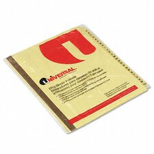 <strong>Universal®</strong> Preprinted Plastic-Coated Tab Dividers, 25/Set