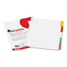 Write-On/Erasable Indexes, 5/Pack