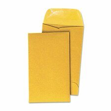 Kraft Coin Envelope, #5, 500/Box