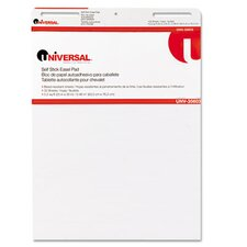 <strong>Universal®</strong> Self-Stick Easel Pads, 2 30-Sheet Pads/Carton