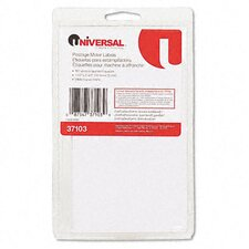 Self-Adhesive Postage Meter Labels, 160-Sheet/Pack