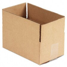 <strong>Universal®</strong> Corrugated Kraft Fixed-Depth Shipping Carton, 25/Bundle