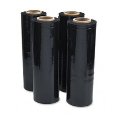 Black Stretch Film, 4 Rolls/Carton
