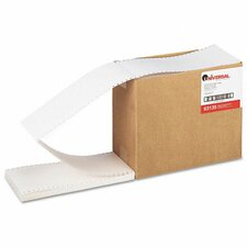 Continuous Unruled Index Cards, 4,000/Carton