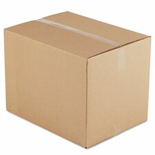 Corrugated Kraft Fixed-Depth Shipping Carton, 10/Bundle