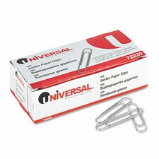 <strong>Universal®</strong> Smooth Paper Clips, 100/Box, 10 Boxes/Pack
