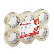 Quiet Carton Sealing Tape, 6/Box