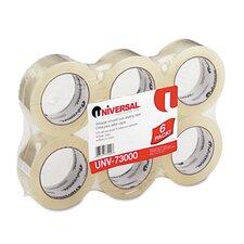 Quiet Carton Sealing Tape, 6/Box