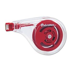 <strong>Universal®</strong> Sideways Application Correction Tape, 6/Pack