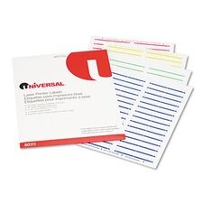 Laser Printer File Folder Labels, 750/Pack