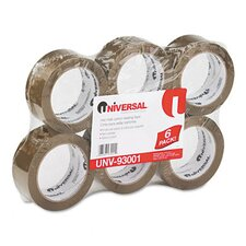 Heavy-Duty Box Sealing Tape, 6/Box