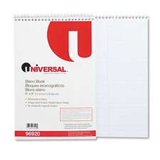 Steno Book, Gregg Rule, 6 x 9, 80 Sheets per Pad