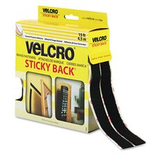 <strong>VELCRO USA Inc</strong> Sticky-Back Hook and Loop Fastener Tape With Dispenser, 3/4 X 15 Ft. Roll