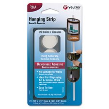 <strong>VELCRO USA Inc</strong> Removable Hook and Loop Poster Hanger Tape