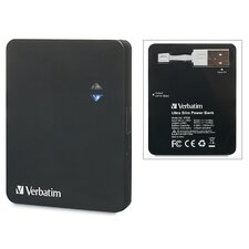 <strong>Verbatim Corporation</strong> Ultra Slim Power Pack Charger