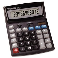 Executive Desktop Calculator, 12-Digit Lcd