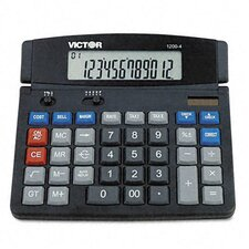 <strong>Victor Technology</strong> Business Desktop Calculator, 12-Digit Lcd